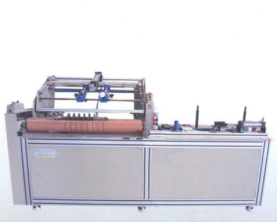 Two side sealing machine for tensile insulator joints